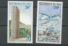 MALI  Scott C53-C54 Yvert PA53-PA54 (2) ** Cote 3,20$ 1968 - Mali (1959-...)