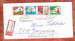 Einschreiben Reco, Satzbrief Aschenputtel, Neumuenster Nach Bargteheide 1965 (45500) - Briefe U. Dokumente