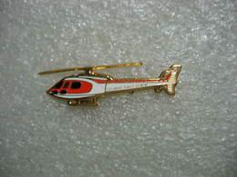Pin's Hélicopttère De La Sécurité Civile De La Ville De GENEVE. - Airplanes