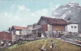 Schweizer Bauernhäuser (2938) - Poststempel Zürich 1. 1. 1907 - Schweiz