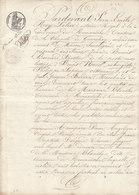 VP 4 FEUILLES - 1830 - TESTAMENT - ROMANECHE - LA CHAPELLE DE GUINCHAY - MACON - LA MAISON BLANCHE - Manuscripts