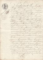 VP 4 FEUILLES - 1830 - TESTAMENT - ROMANECHE - LA CHAPELLE DE GUINCHAY - MACON - LA MAISON BLANCHE - Manoscritti