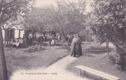 Pensionnat Villa Rafa - Jardin - Cressier (893) * 20. 8. 1906 - NE Neuenburg