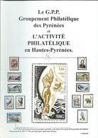 Bulletin  N: 100 Hors Série Pour Ces 25 Ans  Du Groupement Philatélique Des Pyrénées - Postzegels