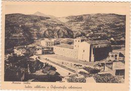 M196 NOVARA SICILIA MESSINA SALITA ABBAZIA E ORFANOTROFIO ANTONIANO 1940 CIRCA - Messina