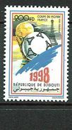 DJIBOUTI MICHEL 664 MNH** FOOTBALL SOCCER WORLD CUP 1994 - Djibouti (1977-...)