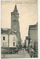 AMIENS SOMME : L'Eglise St Germain - Attelage Chevaux Charrue Avec Futailles - Ed Nouvelles Galeries N° 24 - Amiens