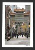 MONTRÉAL - QUÉBEC - QUARTIER CHINOIS  6½ X 4½ Po. 17x11.05 Cm - PHOTO MICHEL DEGRAY ET RÉJEAN BEAUCHAMP - Montreal