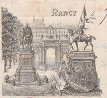 Lettre De Soldat 1896 / 26ème RI / 2 ème Bataillon / Pavillon Drouot / Maison De Famille Des Soldats / 54 Nancy - Documents