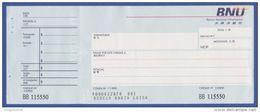 Bank Check/ Chèque Bancaire - MACAO / MACAU, Portugal - BNU, BANCO NACIONAL ULTRAMARINO - Cheques & Traveler's Cheques