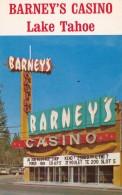 Nevada Lake Tahoe Barney's Casino
