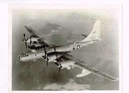 """B-29S WILL """"ATTACK""""  - Superfortress - Old Photo Of A Military Plane With A Technical Description - 206 X 253 Mm - Aviation"""