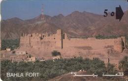 TARJETA TELEFONICA DE OMAN. (051) - Oman