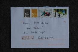 Lettre De FRANCE (CAZOULS LES BEZIERS) - Lettres & Documents