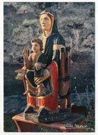 MURAT --15  -- Magnifique Vierge Du 12ème S Volée En 1959 Dans L'église Des Bredons -- Signée Monier - Jungfräuliche Marie Und Madona