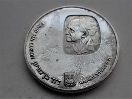 Israel, 25 Lirot, 1974 David Ben Gurion - Israel
