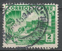 Peru 1938. Scott #375 (U) Children's Holiday Center, Ancon - Pérou