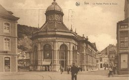 Spa.  Le Pouhon Pierre Le Grand. (scan Verso) - Spa