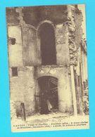 CPA NANTES Vieux St Similien Ancienne Eglise Le Vieux Clocher En Démplition Sept 1894 à Droite Les Piliers Se Profilant - Nantes