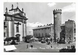 BAGNAIA -  PIAZZA XX SEMMBRE - CASTELLO E CHIESA - VIAGGIATA FG - Viterbo