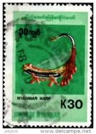 MYANMAR 1998 Musical Instruments 30k Used - Myanmar (Burma 1948-...)