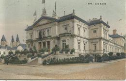 SPA.  -  Les Bains. (scan Verso) - Spa