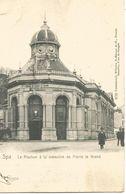 Spa.  Le Pouhon à La Mémoire De Pierre Le Grand. (scan Verso) - Spa