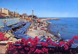 Bordighera - Imperia - Spiaggia - 40986 - Formato Grande Non Viaggiata – E 4 - Imperia