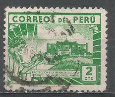 Peru 1945. Scott #410 (U) Children's Holiday Center, Ancon - Pérou