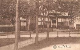 SPA.  Fontaine Du Tonnelet. (scan Verso) - Spa