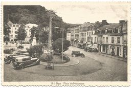 Spa.  Place Du Monument. (scan Verso) - Spa