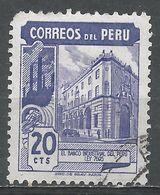 Peru 1951. Scott #439 (U) Industrial Bank Of Peru - Pérou