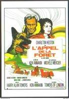 Carte Postale : L'appel De La Forêt (Jack London - Cinéma - Affiche - Film) Illustration : Michel Landi - Posters On Cards