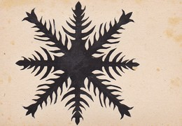 Orig. Scherenschnitt - 1948 (32582) - Papel Chino