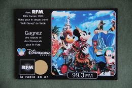 CPSM - PUBLICITE RADIO RFM - DISNEYLAND - Reclame