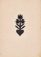 Orig. Scherenschnitt - Blume - 1948 (32592) - Chinese Paper Cut