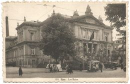 Spa. Les Bains.  (scan Verso) - Spa