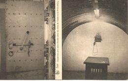 Spa. Souterrain Avec Porte Blindée Dans Les Villas Du Kaiser Et De Hindenburg.  (scan Verso) - Spa