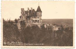 Spa. Château De Warfaz. Résidence Du Chancelier De L'Empire Pendant La Guerre (14-18).  (scan Verso) - Spa