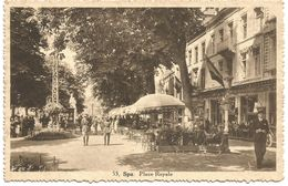 Spa. Place Royale.  (scan Verso) - Spa