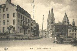 SPA.  Grand Hôtel De Spa.  (scan Verso) - Spa