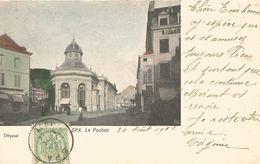 SPA. Le Pouhon.  (scan Verso) - Spa