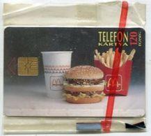TK 31623 HUNGARY - Chip McDonalds MINT$sealed ! - Hungary