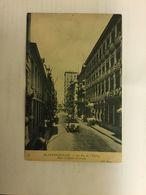 BLANKENBERGE 1908   BLANKENBERGHE LA RUE DE L' EGLISE  HOTEL D' HONDT D' AVROY   ND PHOT. 55 ZELDZAAM  AUTO / VOITURE - Blankenberge