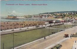 WESTON SUPER MARE - PROMENADE AND BEACH LAWNS - Weston-Super-Mare