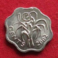 Swaziland 10 Cents 2002  Swasiland Swazilandia Suazilandia UNCºº - Swaziland