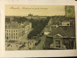 BRUXELLES BOULEVARD DU JARDIN BOTANIQUE     TRAM ! - Avenues, Boulevards