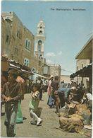 V1392 Bethlehem Betlemme - The Marketplace Il Mercato / Non Viaggiata - Palestina