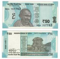 India 50 Rupees 2017 UNC - India