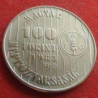 Hungary 100 Forint 1983 FAO F.a.o. UNC - Hungría